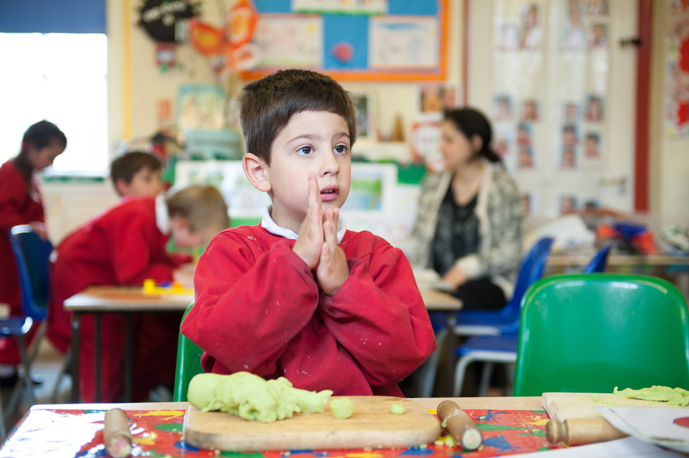 Playdough EYFS Holy Cross