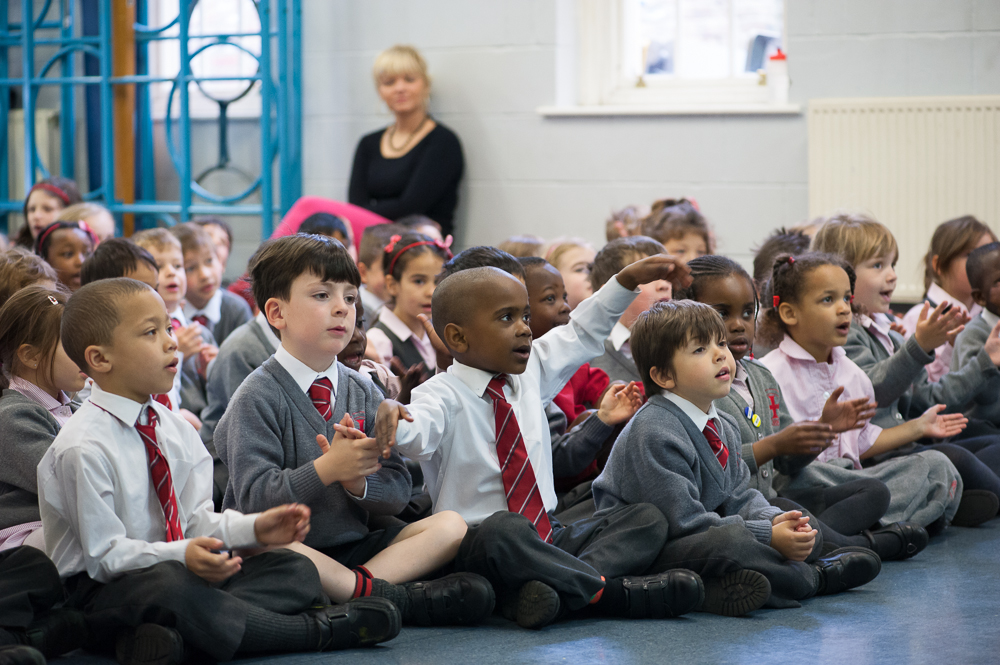 Children Assembly Holy Cross